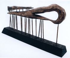 The Sculptors Society - Robert Hawkins, 'Tidelines Revisited', wood.
