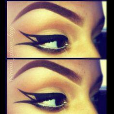 Artistic and artful eyeliner