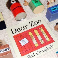 Glitterbugs Story Sack - Dear Zoo