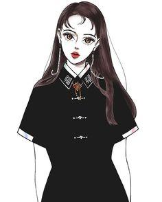 Ideas fashion girl painting for 2019 Cute Fashion, Urban Fashion, Fashion Art, Editorial Fashion, Trendy Fashion, Fashion Models, Girl Fashion, Fashion Show, Autumn Fashion