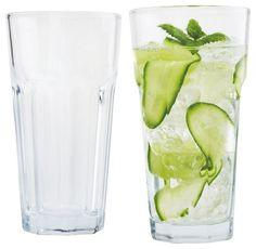 Longdrinkglas - für erfrischende Stunden an heißen Sommertagen