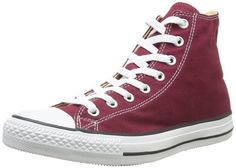 Converse Chuck Taylor All Star, Unisex-Erwachsene Hohe Sneakers, Rot (Maroon), EU 39.5 EU - http://autowerkzeugekaufen.de/converse/39-5-eu-converse-ctas-season-hi-1j791-herren-5