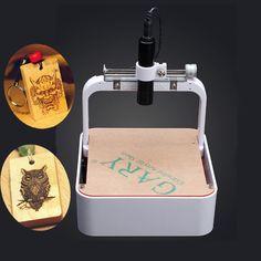 benbox 300MW bricolaje mini impresora foto máquina de grabado grabador láser