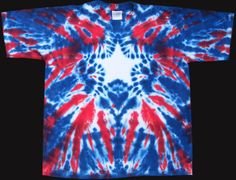 Fourth of July tie dye idea