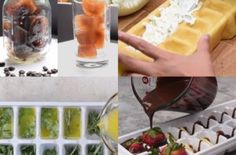 Amazing ice tray hacks