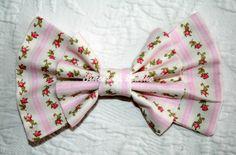 """""""Let Them Eat Cake v2"""" bow from Sincerely, Maeko!    http://sincerelymaeko.storenvy.com"""
