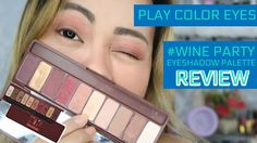 Play Color Eyes #Wine Party - Etude House  | Eyeshadow Palette Review Wine Parties, Etude House, Product Review, Eyeshadow Palette, Play, Stylish, Makeup, Youtube, Outfits