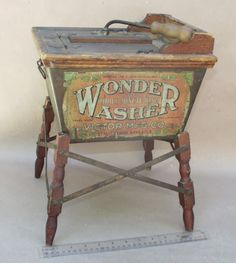 vintage washing machines | ... washing machine this antique salesman sample washing machine is a