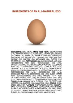 An all-natural egg  By: James Kennedy Monash