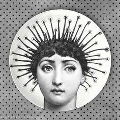 hair, Cavalieri melamine plate