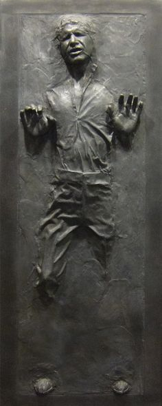 Han Solo in Carbonite Star Wars Fathead-style Life-size Wall Decal Sticker ‪#‎hansolo‬ ‪#‎starwars‬ ‪#‎carbonite‬ #darthvader $99.99