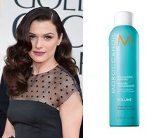 Moroccanoil Volumizing Mousse, $28, at fine salons and spas.