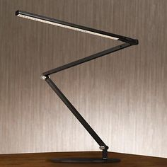 The Gen 3 Z-Bar daylight LED desk lamp by Koncept combines sleek contemporary style with advanced lighting technology.