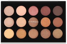 MAC Eyeshadow X15 palette in Warm Neutral