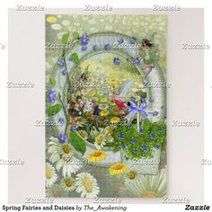 Spring Fairies and Daisies Jigsaw Puzzle