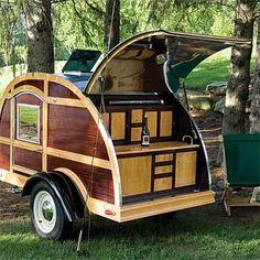 Click to view larger image(s) Tiny Trailers, Small Trailer, Vintage Trailers, Camper Trailers, Travel Trailers, Used Camping Trailers, Vintage Cars, Trailer Build, Vintage Caravans