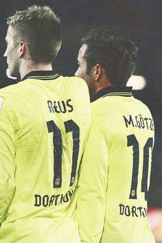 Mario Götze and Marco Reus