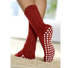 FootSmart Treaded Wool Slipper Socks >>> Find out more about the great item at the image link. Slipper Socks, Slippers, Non Skid Socks, Bed Socks, Going Barefoot, Patterned Socks, Wool Socks, Funky Fashion, Women's Socks & Hosiery