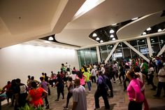 """FREE Bfit Zumba with @MissDebiFit @bhcplive tonight at 7:30pm on the Macy's Bridge. Like if you will """"BHere""""."""