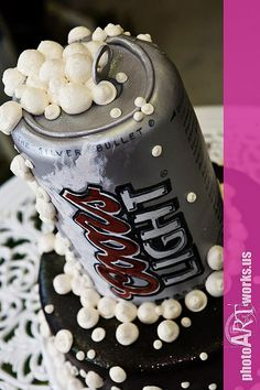 coors light groom's cake.