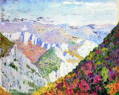 Landscape - Nikolay Bogdanov-Belsky