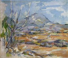 Mont Sainte-Victoire by Paul Cezanne, 1887 Post-Impressionism landscape — Artful for Mac Paul Cezanne, Cezanne Art, List Of Paintings, Most Famous Paintings, Famous Art, Claude Monet, French Artists, Art World, Van Gogh