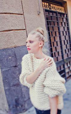 Nolita Sweater - Buy Wool, Needles & Yarn Knitting kits   WE ARE KNITTERS