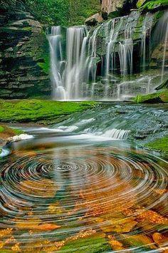 Black Water Falls, West Virginia