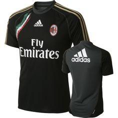 Da Sports Fans Shop  adidas AC Milan 201314 Training Jersey Black 4a89445a2