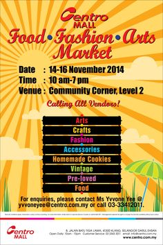 Join us in our 3rd Weekend Market :)