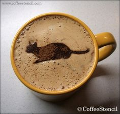 coffee-cat-4. Enjoy your cat and coffee in the same time. So sweet. The Incensewoman
