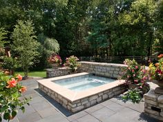 Modern Spa Design by Classic Pool & Patio.