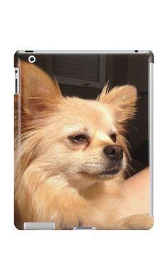 'Benjie' iPad Case/Skin by Jennifer Stacey Framed Prints, Canvas Prints, Art Prints, Iphone Wallet, Iphone Cases, Crazy Dog, Ipad Case, Art Boards, Corgi