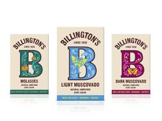 Billington's (Redesign) | Packaging of the World: Creative Package Design Archive and Gallery