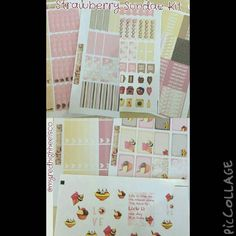 Summer time is almost here. So this kit is perfect.  Strawberry Sundae Kit go order yours today @myredhighheelsco and remember to use my code ilovemypinkplanner25 to get 25% off your purchase with no minimum.  #plannerobsessed #planningessentials #planner #planneraddict #plannerlove #plannercommunity #stickers #sale #filofax #happyplanner #ecplannerlove #happyplanner #websterpages #colorcrushplanner by ilovemypinkplanner