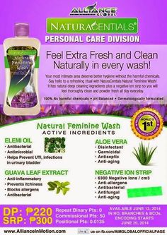 NATURAL FEMININE WASH - Most intimate area deserve better hygiene without the harmful chemicals. It has natural deep cleansing ingredients plus a negative ion strip so you will feel thoroughly clean and powder fresh all day every day. Heath Care, Feminine Wash, Complete Nutrition, Proper Nutrition, Natural Cleaning Products, Natural Products, Natural Foods, Immune System Boosters, Wedding Ring