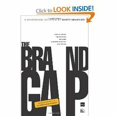 """The Brand Gap: How to Bridge the Distance Between Business Strategy and Design by Marty Neumeier -- recommended by FreeAgent Designer Robbie.  """"It's not what you say it is. It's what they say it is."""""""