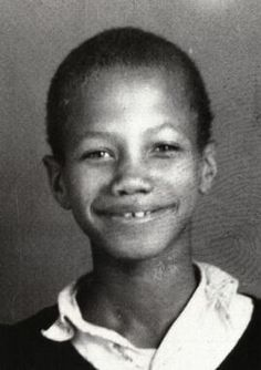 a young Malcolm Little, who would later become civil rights leader Malcolm X (R.I.P.)