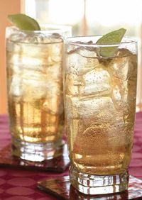 """The """"Tuscan Mule"""" can also be made with ginger brew or ginger beer."""