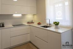 Modern Kitchen Cabinets, Kitchen Cabinet Design, Interior Design Living Room, Kitchen Dining, Korean Kitchen, Casa Patio, Cuisines Design, Küchen Design, Diy Room Decor