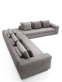 Corner Sectional Fabric Sofa SAVOY Collection By Marac Design MARAC
