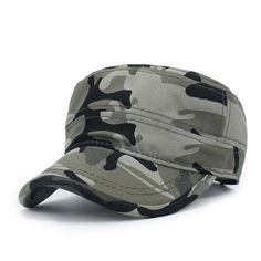 5ccb1179 Cotton Unisex Men Women Flat Top Cap Do Old Effect Military Hats Classic  Solid Color Visor Hat Summer Autumn   Inderjit Singh   Visor hats, Hats, ...