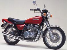 Bild - Cars and motorcycles - Motorrad Kawasaki Cafe Racer, Kawasaki Motorcycles, Vintage Motorcycles, Cars And Motorcycles, Kawasaki Classic, Scooters, Motorised Bike, Vintage Bikes, Retro Bikes