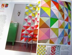 New Book preview : PRINT & PATTERN GEOMETRIC ISBN-13: 978-1780674148. Featured pages - Studio Boot