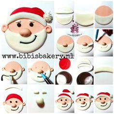 Als je voor Kerstmis zelf cupcakes wilt maken, dan laat ik hier zien hoe je dat kunt doen. Als je deze en andereoriginele en lekkere cupcakes bij mij wilt bestellen, dan kan dat natuurlijk ook. Maar vol = vol.   This week I will post several easy X mas cupcake pictorials. Here is the first: my Santa pictorial. Hope to see you soon  xxx Bibi  #bibisbakery