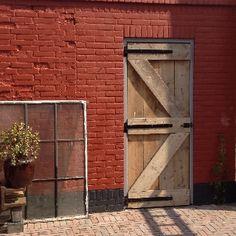 Steigerhout poort deur Baarn