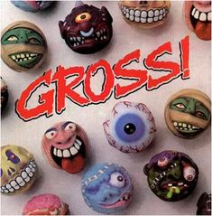Mad Balls Madballs 1980's toys Gross Monsters
