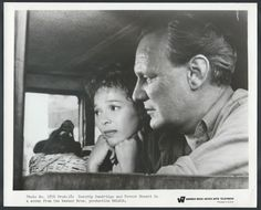 Dorothy Dandridge and Trevor Howard in a scene from the Warner Bros. production Malaga.