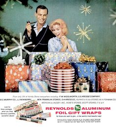 Xmas Gift Wrap Ad (1960)   Reynolds Gift Wrap Christmas ad f…   Flickr