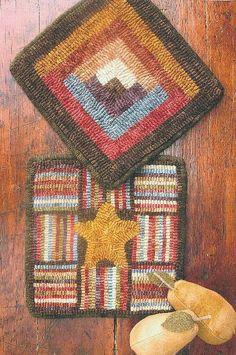 Little mats...great hooking